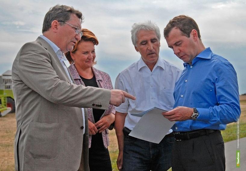 Ректор МичГАУ поговорил с премьер-министром о здоровом питании
