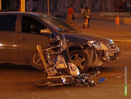 Житель Пензы сбил скутериста в Тамбове