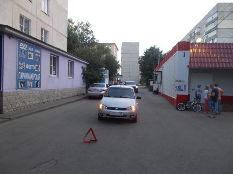 В ДТП в Тамбове пострадал шестилетний велосипедист