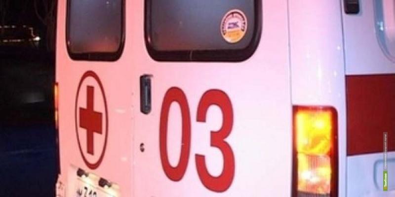 На выезде из Тамбова BMW влетела в столб: погибли четыре человека