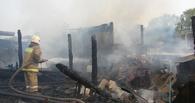 В Бондарском районе дом сгорел вместе с хозяином