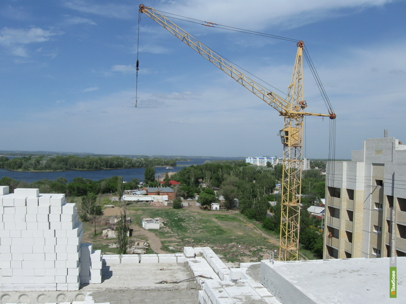 В этом году для тамбовчан построят 40 жилых домов
