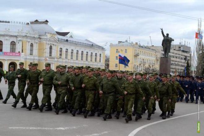 Репетиция парада Победы перекроет движение в центре Тамбова