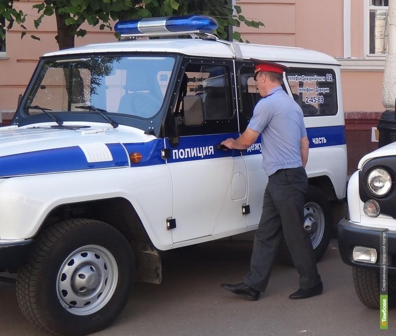 Тамбовчанин получил условный срок за применение насилия к представителю власти