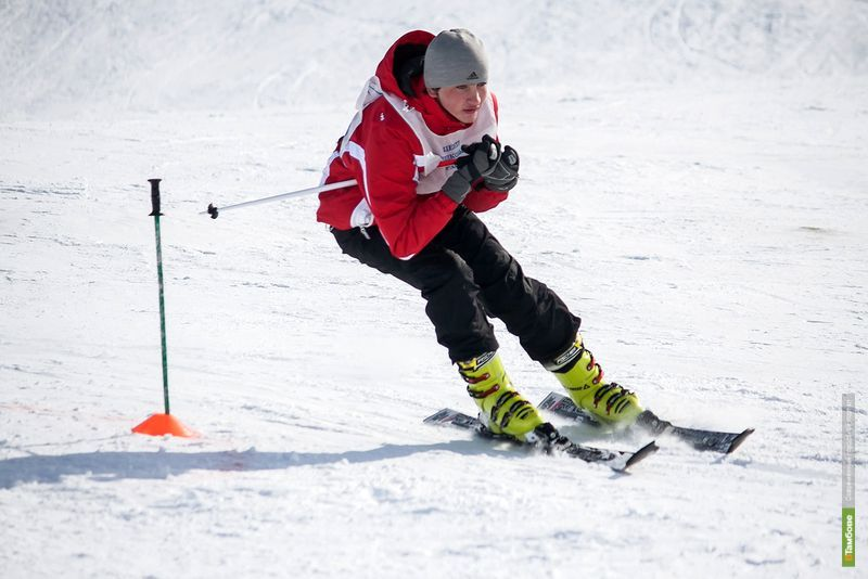 Тамбовские лыжники и сноубордисты посоревновались в слаломе