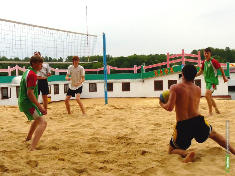 На тамбовском пляже развернутся волейбольные баталии