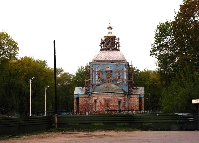 В Мичуринске строят храм и здание воскресной школы