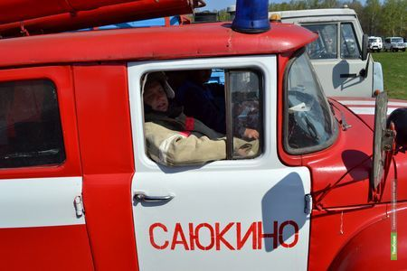 Тамбовских пожарных за минувшие сутки трижды поднимали по тревоге