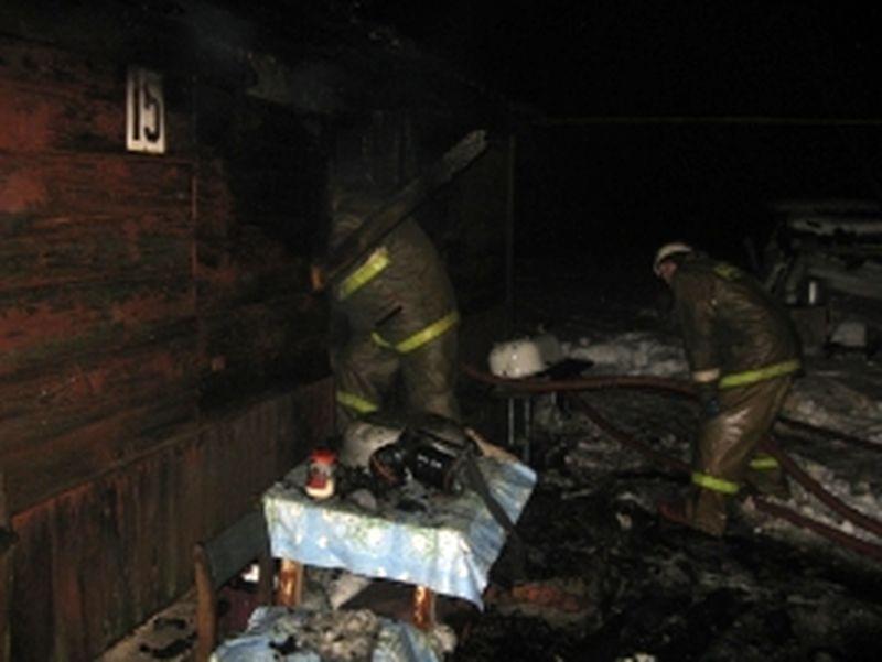 Пожар в Гавриловском районе унёс жизнь пенсионера