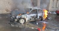 На Тамбовщине за один вечер загорелись два авто