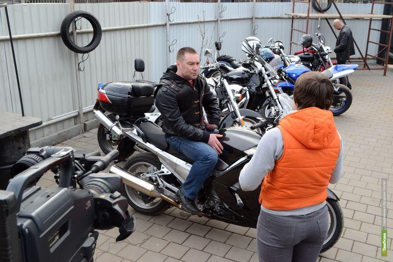 Мотопробег в Тамбове завершится фаер-шоу
