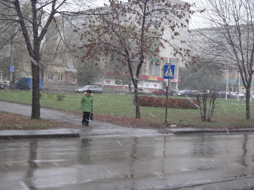 В выходные в Тамбове ожидается мокрый снег с дождём