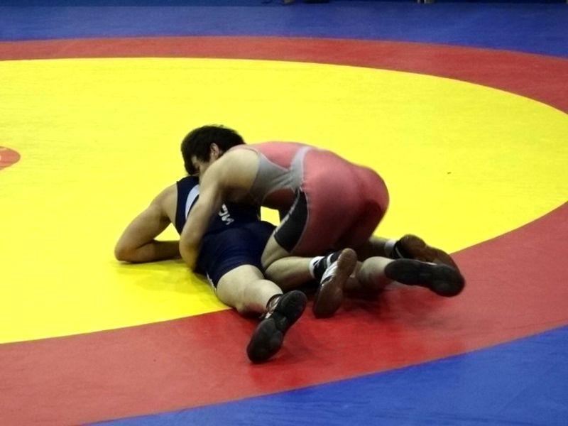 Тамбовчане завоевали 6 медалей на первенстве по греко-римской борьбе