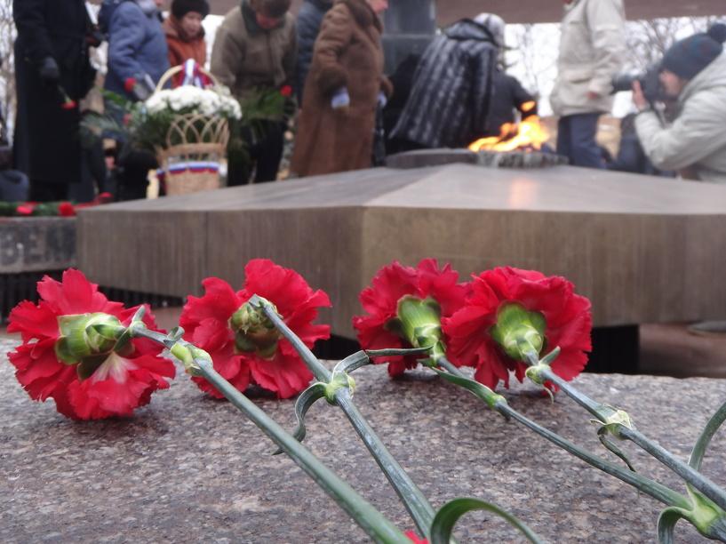Тамбовчане почтили память погибших блокадников