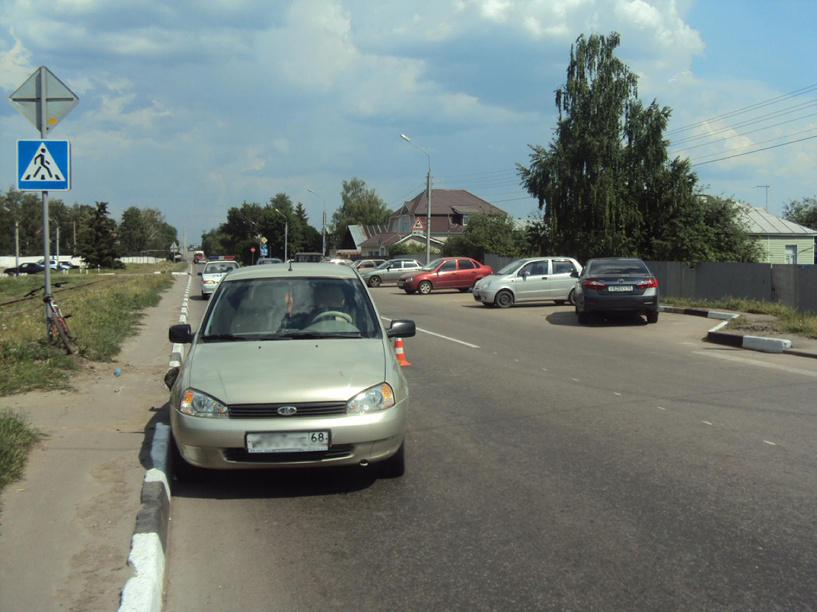 В Тамбове «Калина» сбила ребёнка на велосипеде
