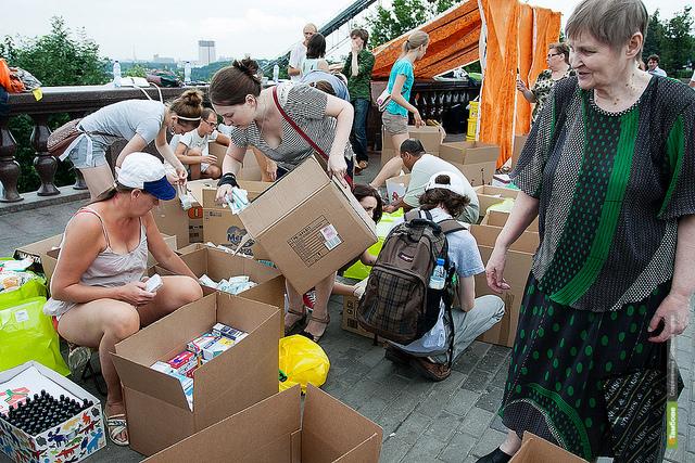 ВТамбове закрывается пункт сбора гуманитарной помощи для Кубани