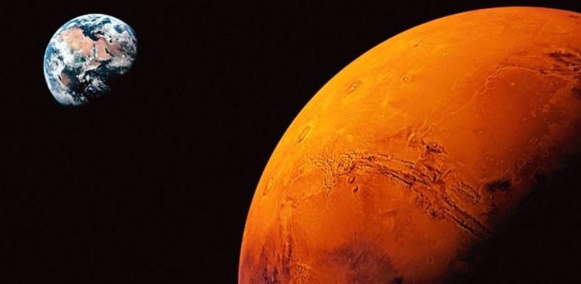 По прогнозам учёных люди высадятся на Марсе менее, чем через 20 лет