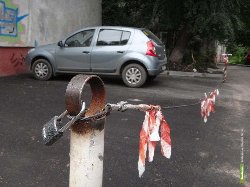 В Тамбове планируют открыть более десятка новых парковок