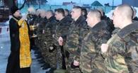 Бойцов ОМОНа проводили в командировку в Чечню