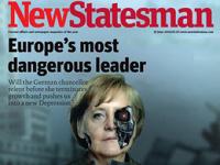 Меркель в образе Терминатора попала на обложку британского журнала
