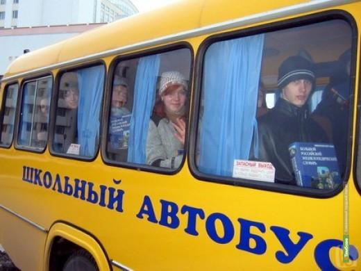 Под Тамбовом водитель школьного автобуса потерял сознание за рулём