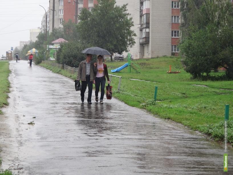 В Тамбове дождь пойдет уже сегодня