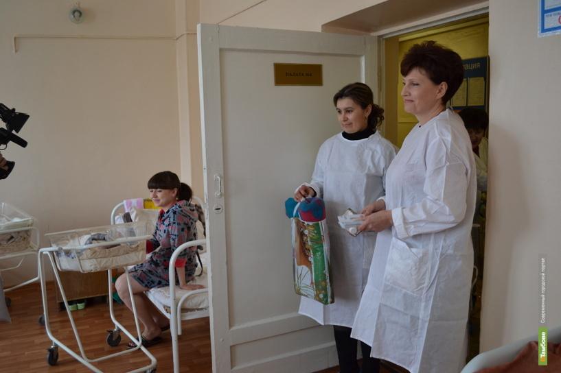 В Тамбове прошла акция «Каждому ребёнку — пелёнку»
