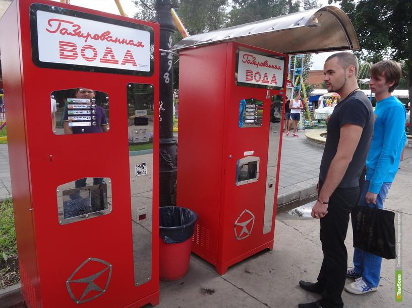 В Тамбове появились «советские» автоматы с газировкой