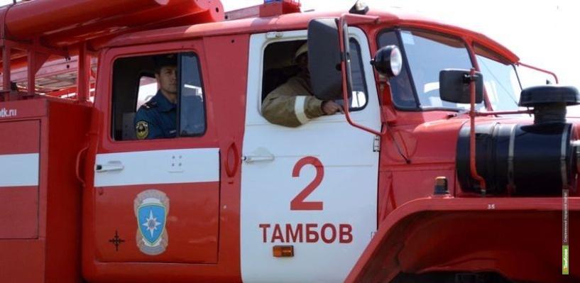 В Староюрьевском районе во время пожара погибла 40-летняя женщина
