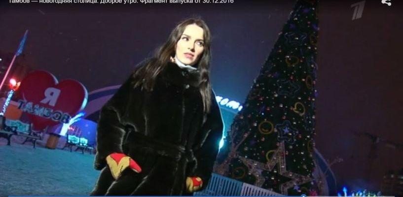 Один день из жизни Новогодней столицы показали по Первому каналу