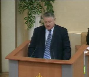 Представлять тамбовский парламент в Совете Федерации вновь будет Николай Косарев