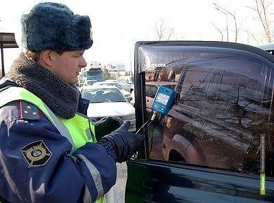 Тамбовские милиционеры за неделю задержали больше пятисот тонированных машин