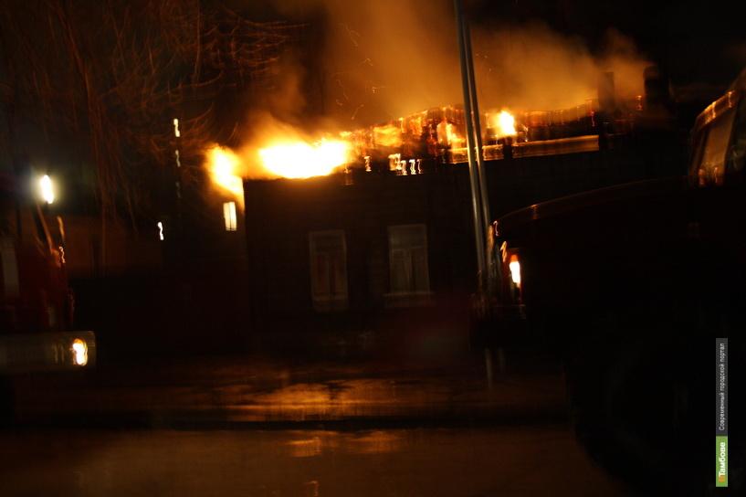 Престарелый житель Токаревки погиб на пожаре