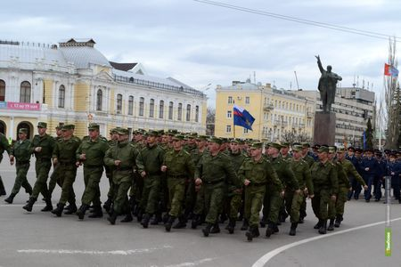 Движение в центре Тамбова перекроют из-за репетиции парада