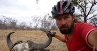 Пять дней в Африке: Александр Осипов начал свое велопутешествие
