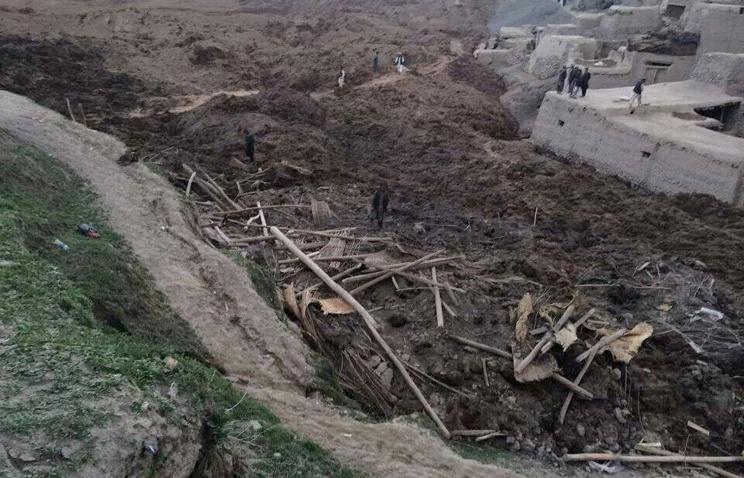 Жертвами оползня на северо-востоке Афганистана стали более 2000 человек