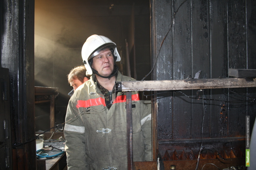 Престарелый мужчина погиб в огне