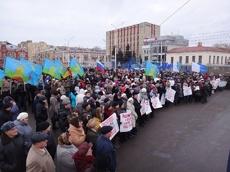 Рассказовцы присоединятся к череде митингов в поддержку Украины