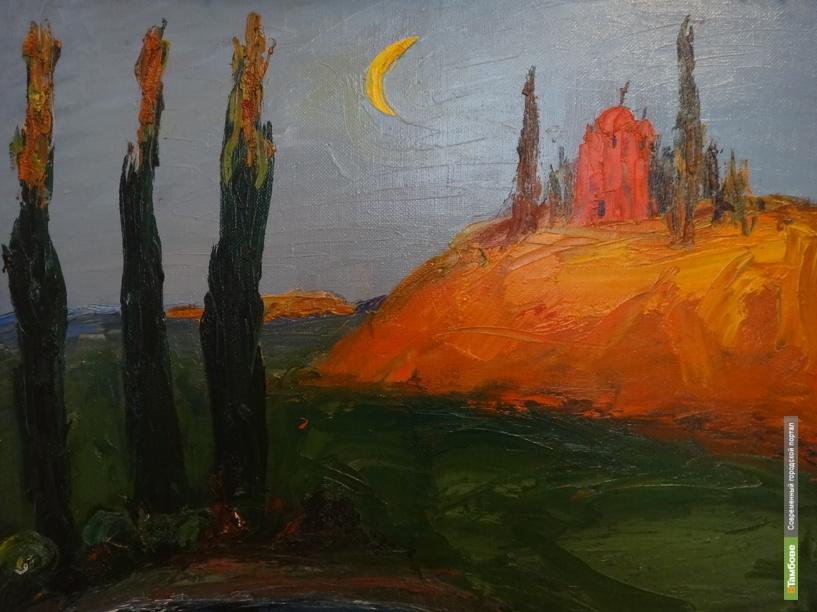 Тамбовчане могут увидеть Придонье глазами липецкого художника