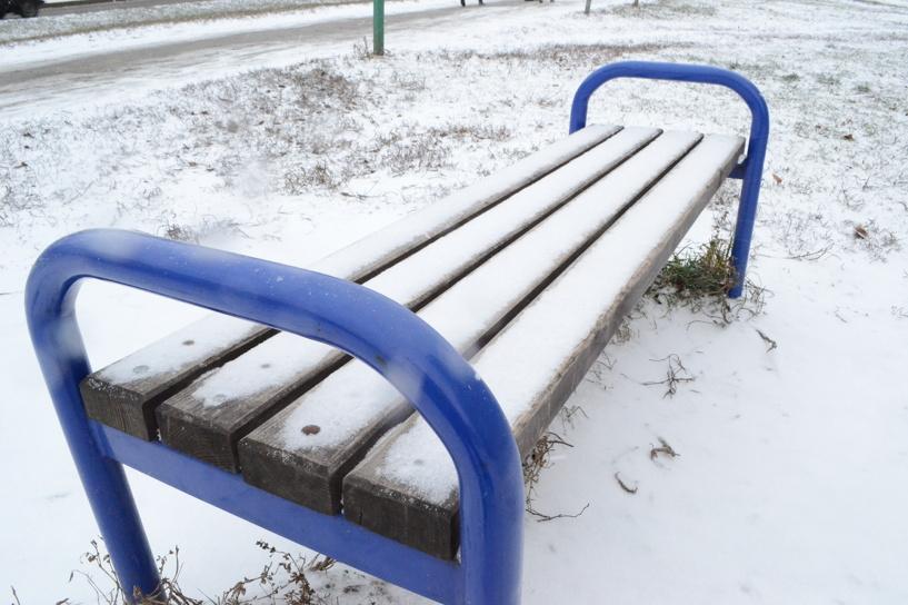 В Тамбове начались снегопады