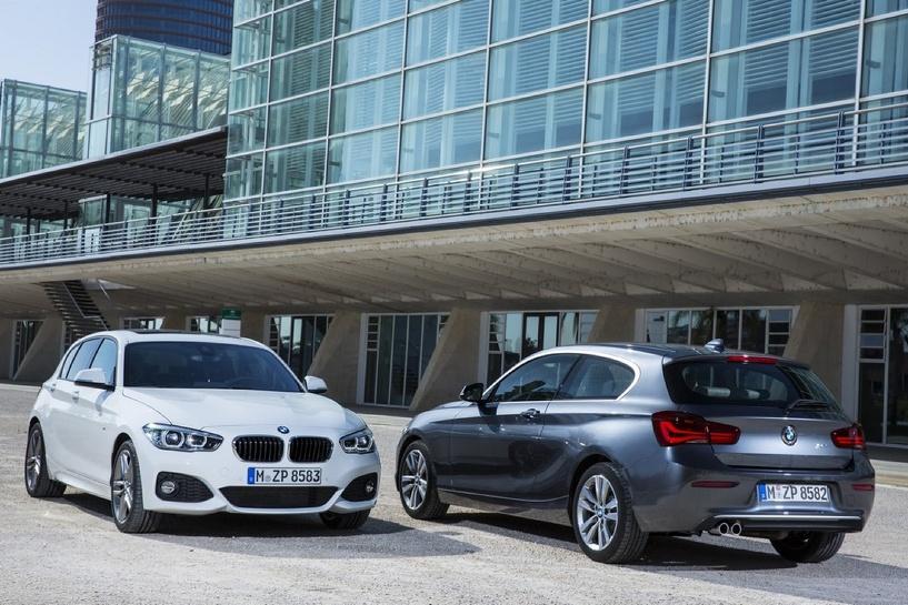 «Копейка» обновилась: BMW показали рестайлинг 1-Series