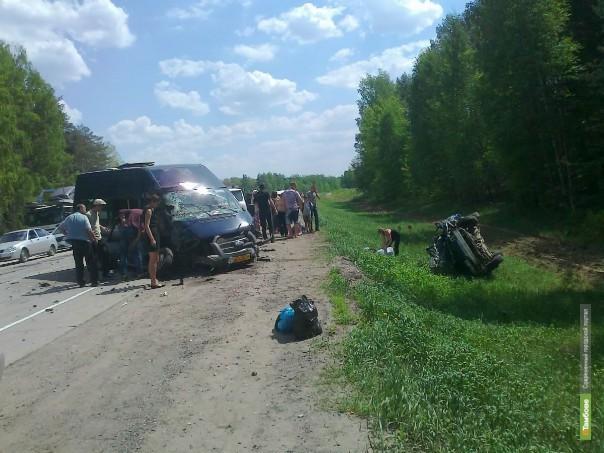 Автобус «Рассказово-Тамбов» попал в ДТП