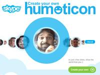 Skype решил сделать смайлики с человеческим лицом