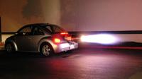 В Дубае мужчину арестовали за гонки на «реактивном» авто