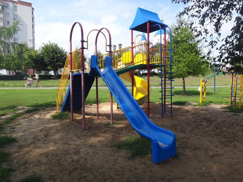 Тамбовчане решили потратить грант на строительство детских площадок