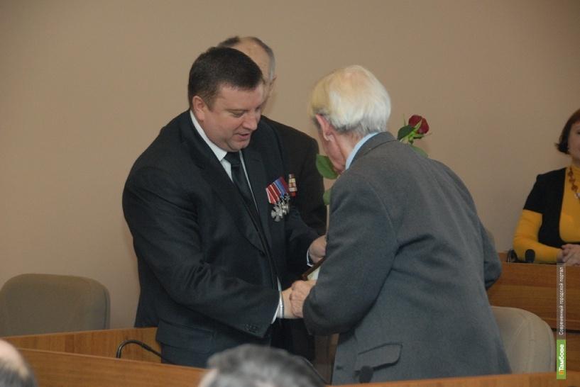 Глава Тамбова поздравил ветеранов с Днём защитника Отечества