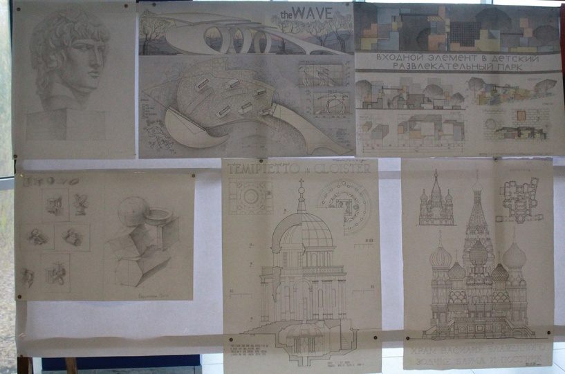 Тамбовские студенты-архитекторы представили свои проекты губернатору