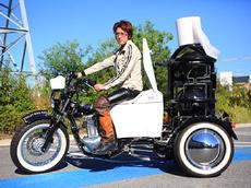 Японцы предложили покупателям «навозный» мотоцикл