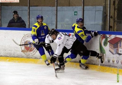 Тамбовские хоккеисты вышли в следующий тур Кубка РХЛ