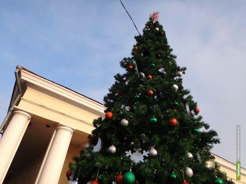 В Тамбове установят 84 праздничные елки